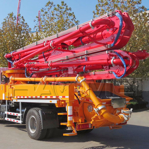 HDT5401THB-45/5 concrete boom pump truck for sale p